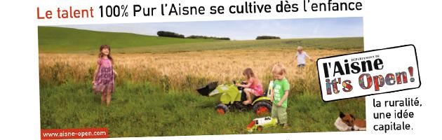 L'Aisne, it's open
