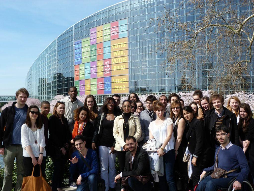 Groupe étudiants Strasbourg 2013