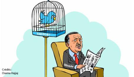 Erdogan et Twitter - Osama Hajjaj