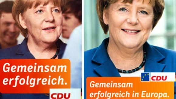 CDU affiche européennes