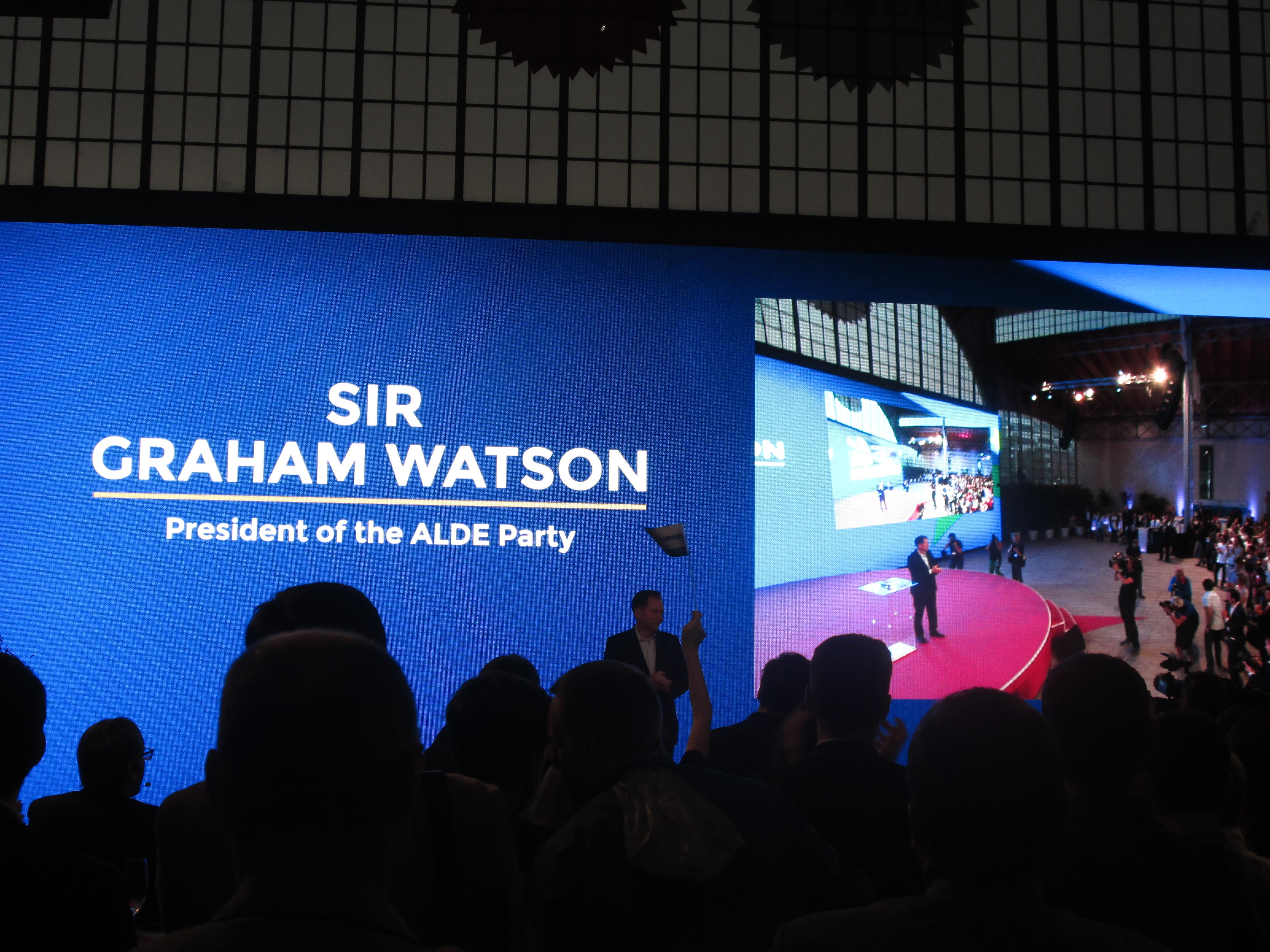 Sir Graham Watson par Justine Audo