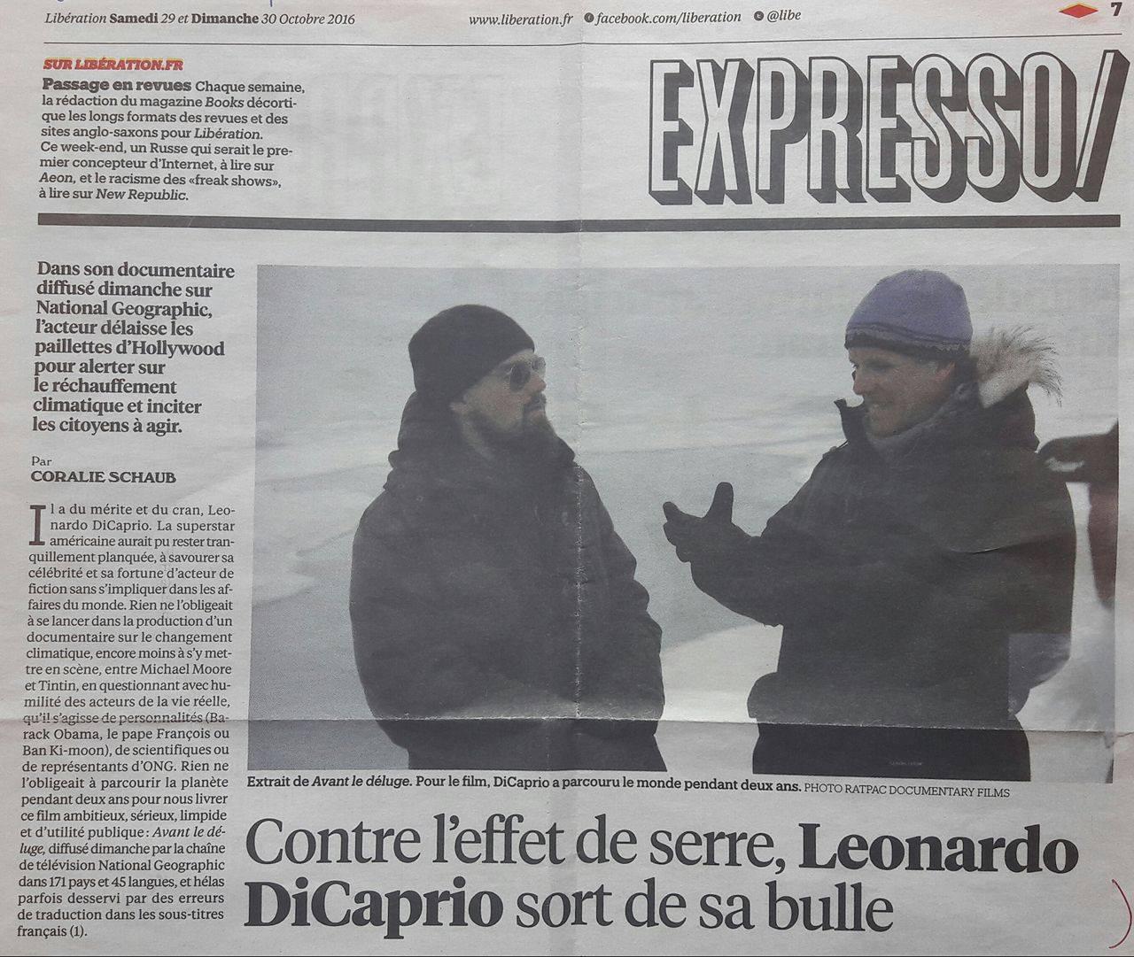 Libération, 29-30 octobre 2016 p. 7