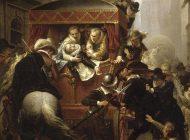 « Assassinat d'Henri IV et arrestation de Ravaillac, le 14 mai 1610 » de Charles-Gustave Housez (1858)