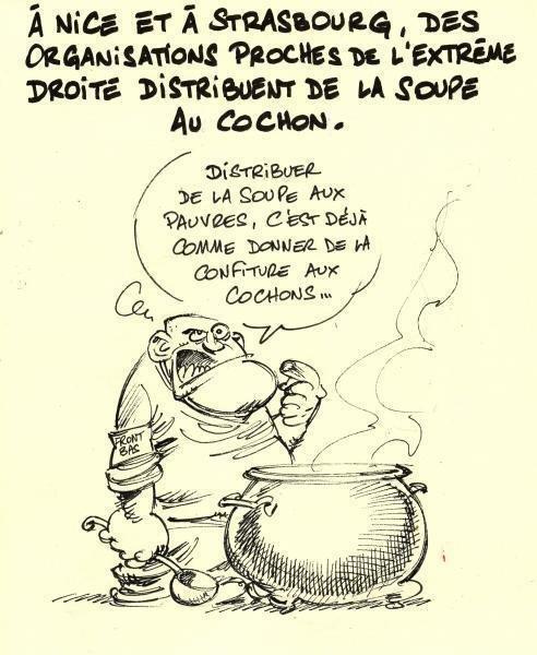 Caricature – « Régionales : premiers pas de l'oie pour l'extrême droite 2.0 » - Slate.fr