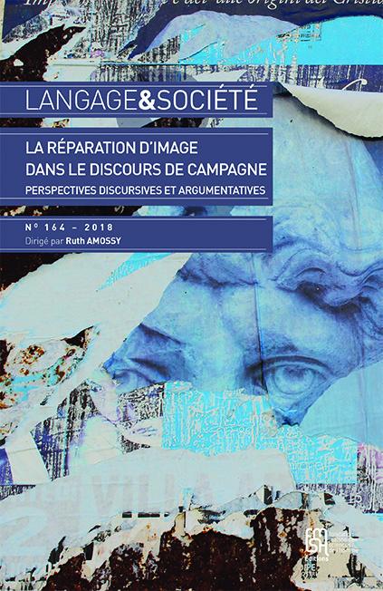 couverture de Langage et société, n° 164/2, 2018