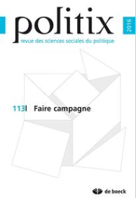 """Faire campagne"", Politix, n°113, 2016"